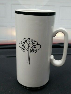 "VINTAGE Stix Baer & Fuller Restaurant Tall 6"" Cocoa Latte Coffee Mug NO CHIPS"