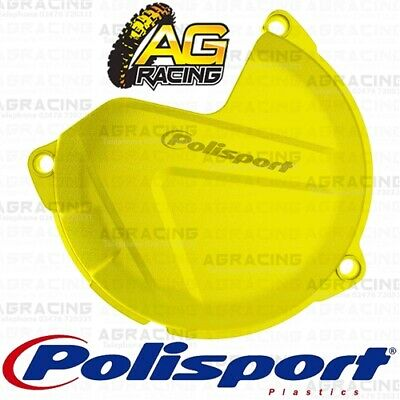 Polisport Yellow Clutch Cover Protector For KTM XC 200 2015 Motocross Enduro