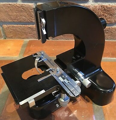 LEITZ Ortholux I Large Research Microscope Base with Stage