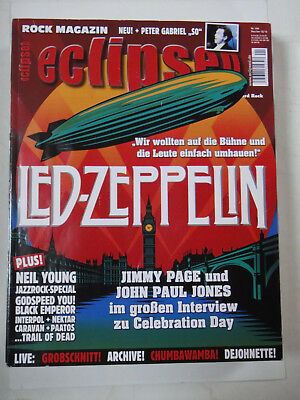 ECLIPSED ROCK MAGAZIN - Nr.146 Dez/Jan. 2012/13 - ohne CD - LED ZEPPELIN