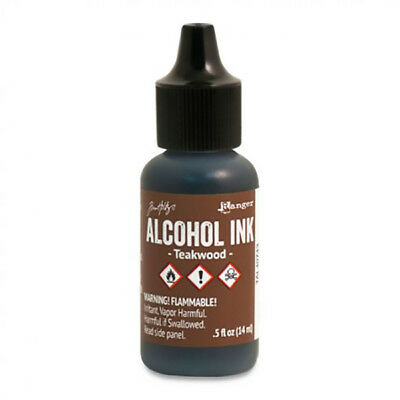 Ranger - Tim Holtz - Alcohol Ink - Teakwood - Brown