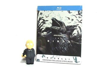 The Birds Blu-Ray Steelbook Limited Edition + Alfred Hitchcock Funko Mini