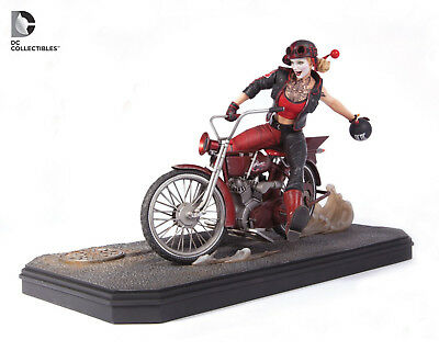 Dc Collectibles Harley Quinn Gotham City Garage Limited Numbered Edition Statue