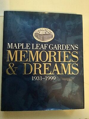 Toronto Maple Leafs hockey Memories and Dreams 18 autographs signed book w/COA
