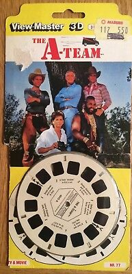Sealed - 3D View-Master - The A-Team Reels (1983) 4045 NR.77