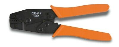 Beta Tools 1606A16 Crimping Pliers for Tubular Terminals 220mm 6-16mm²