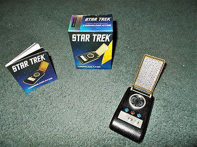 Star Trek TOS communicator with lights and sounds