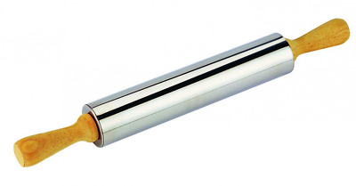 Tescoma Stainless Steel Rolling Pin Delicia,25cm, 5cm