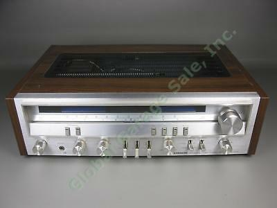 Vtg Pioneer SX-3700 Silver Face AM/FM Stereo Receiver Tested Light Up Sound Work