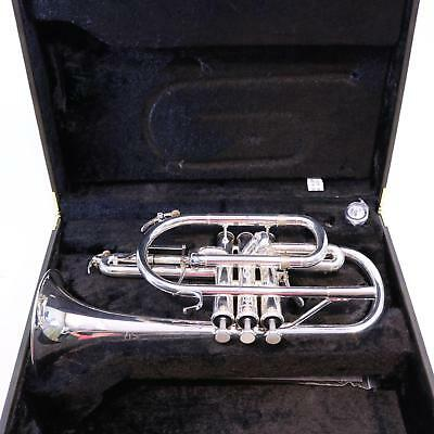 Yamaha YCR-6330S Professional Model Cornet in Silver Plate MINT! WOW!