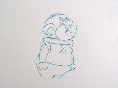 The Jetsons Mr Spacely Original Production Layout Drawing Animation #2