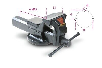 Beta Tools 1599F Parallel Bench Vice Max A: 220mm L1: 175mm | 015990175