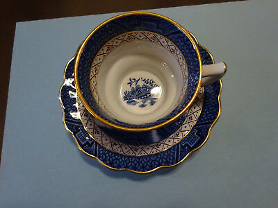 Cup & Saucer,  Booths Real Old Willow , A8025  Made In England