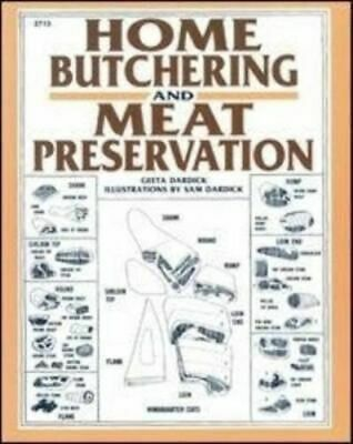 NEW Dardick Home Butchering By Dardick Paperback Free Shipping
