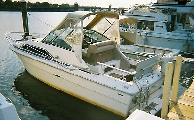 1982 Sea Ray Sundancer 24' Cabin Cruiser - Massachusetts