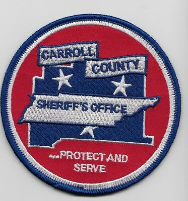 Carroll County Sheriff State Tennessee TN NEw