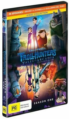 NEW Trollhunters - Tales of Arcadia DVD Free Shipping