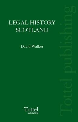Legal History Of Scotland Volume Iii, 9781845927264