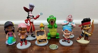 Disney Store Jake and the Neverland Pirates PVC Figures Set A1