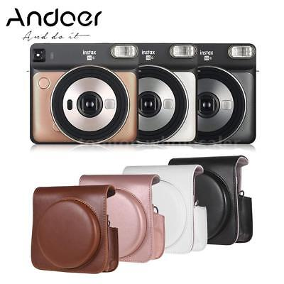 PU Leather Camera Case Bag Cover Protector for Fujifilm Instax Square SQ Camera