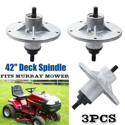 Spindle Assembly 3pc 54in Deck Lawn Mower AYP Craftsman Husqvarna 187292 192870