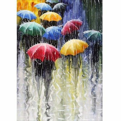 Raining DIY Full 5D Diamond Painting Rhinestone Cross Stitch Room Home Decor