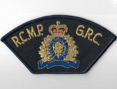 CANADA R.C.M.P.  G.R.C. Police Patch Kanada Polizei Abzeichen Royal Can.Mounted