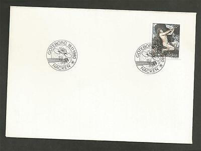 SWEDEN - 1980 Necken, the Spirit of the Water  - FIRST DAY COVER