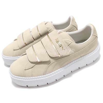 Puma Platform Trace Strap Wns Ivory Whisper White Women Casual Shoes 366709 -01 5c4f4342c