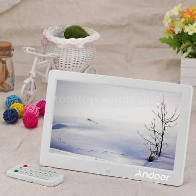 "10.1"" HD Digital Photo Frame Picture Album Clock MP4 Movie Player Remote Control"