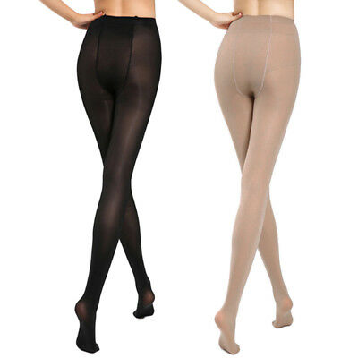 Hot Plus Size Ultra Elastic Tights Stockings Women Shaping Pantyhose Socks 30D
