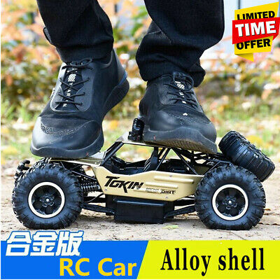2.4G 4WD RC Car Remote Control Electric Monster Buggy Off-Road Vehicle Xmas Gift