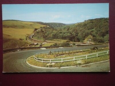 Postcard Caithness Hairpin Bend Of Berriedale Hill Nr John O'graots