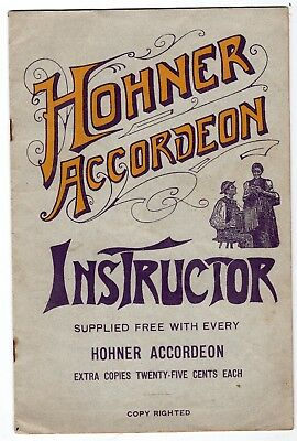 Early 1900s Hohner Accordian