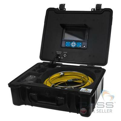 Drain Pipe & Wall CCTV Inspection Camera Recordable 40M UK Stock