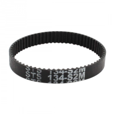 S2M-134 67 Teeth 6mm Width Black Rubber Cogged Industrial Timing Belt