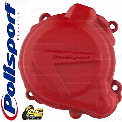 Polisport Ignition Cover Protector Red For Beta RR 2T 250 300 Xtrainer 250 300