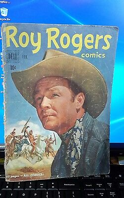 Roy Rogers 38 (Feb 1951) Vintage Golden Age Comic from Dell