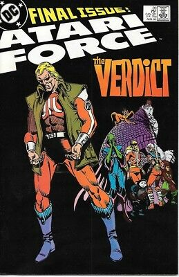 Atari Force Comic Book #20 DC Comics 1985 VERY FINE NEW UNREAD