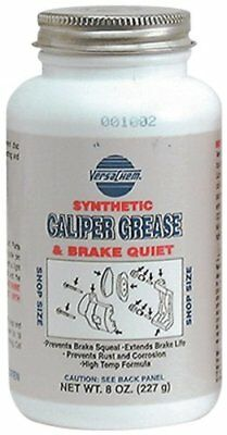 VersaChem Synthetic Caliper Grease. 26080, 8oz (227g) Bottle with brush