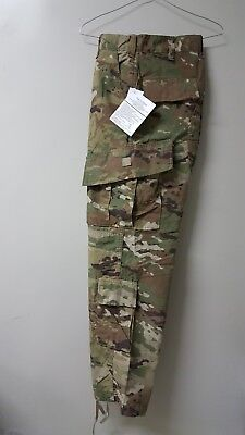ARMY Combat Trousers Pants ACU OCP Flame Resistant/Insect Shield Small-Short NEW