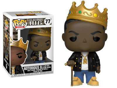 Notorious B.I.G. with Crown - Funko Pop! Vinyl Figure  #77 IN STOCK