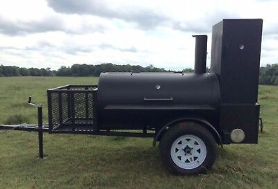 Bbq smoker trailer custom competition catering concession gril cheap