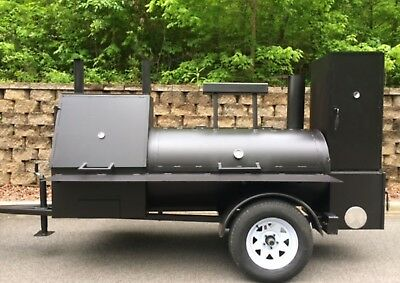 Bbq Smoker Trailer Concession Competition Catering Cheap Deal