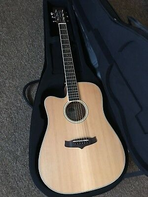 £450 RRP Left hand / Handed Electro Acoustic Guitar Fitted Hard Case