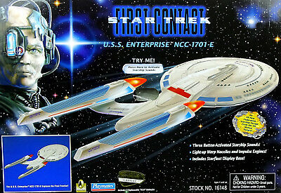 Uss Enterprise Ncc-1701E Star Trek First Contact Mit Licht & Sound Playmates