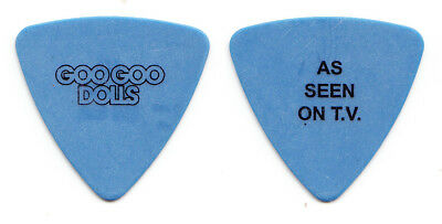 Goo Goo Dolls Robby Takac As Seen On TV Blue Bass Guitar Pick - 2016 Boxes Tour