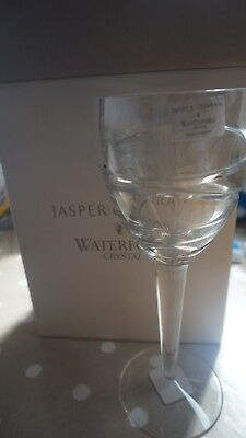 "One pair of Jasper Conran Waterford Crystal Aura wine goblets 10"" tall Brand New"