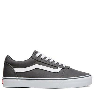 New Mens Vans Ward Dark Grey Pewter Skate Shoes Low Top Size 9.5 M 82372d445