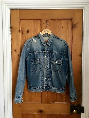Levi's Vintage Type II Denim Jacket M LVC Selvedge Levi